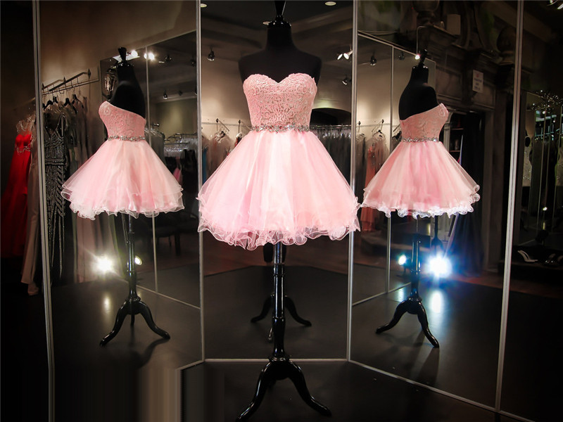 Pink Prom Dress,Short Prom Dress,Lace Prom Dress,Cheap Prom Dress,Junior Prom Dress, Prom Dress 2016, Lace Homecoming Dress, 8th Grade Prom Dress,Holiday Dress,Lace Evening Dress, Short Evening Dress,Formal Dress,Pink Homecoming Dresses, Graduation Dress, Cocktail Dress, Party Dress