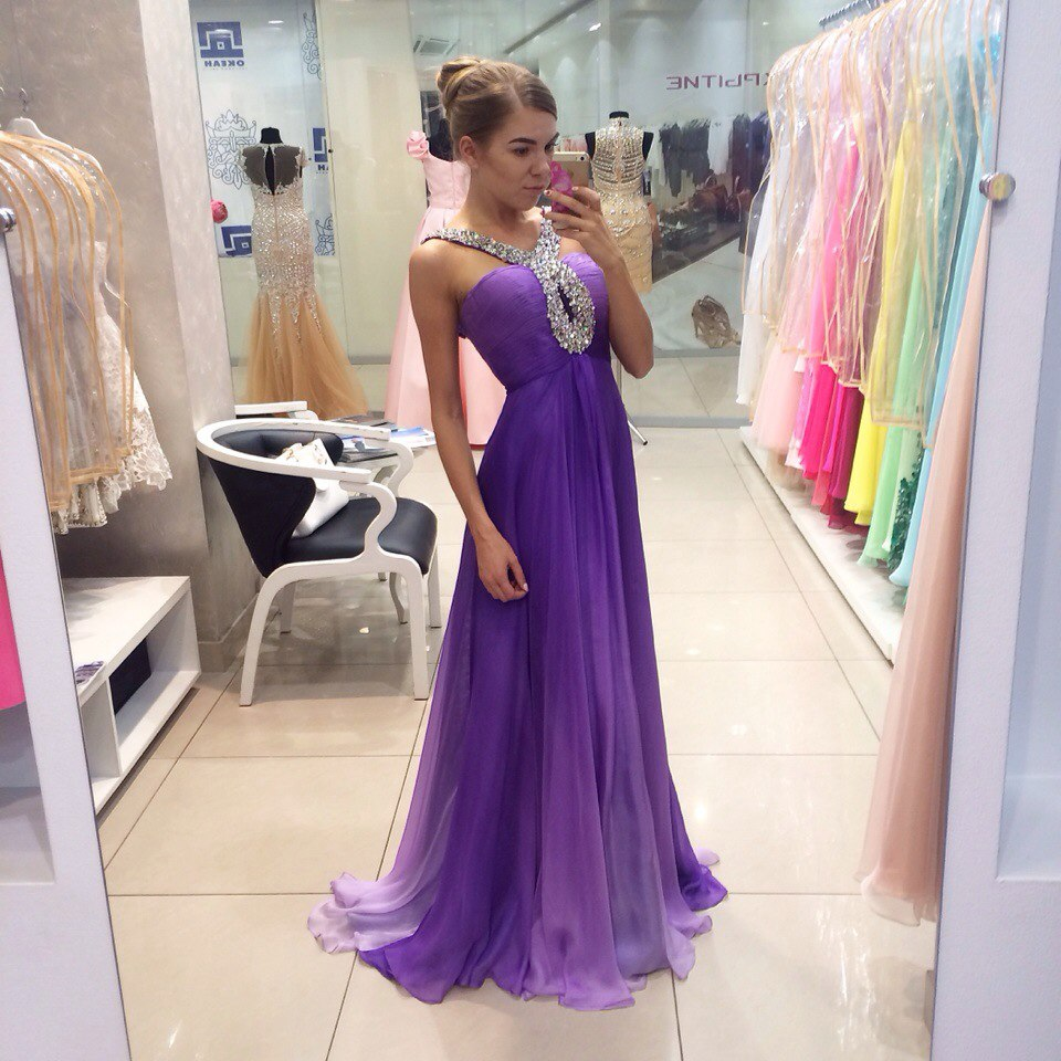 Purple Prom Dresses,Prom Gown Long,Formal Evening Dresses,Party Dress  Cheap, Homecoming Dresses,Graduation Dress Custom Plus Size