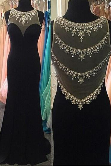 Mermaid Prom Dress, Prom Back See Through,Black Prom Dress,Prom Dress Long,Cheap Prom Dress,Prom Gown,Junior Prom Dress,Sexy Prom Dress,Evening Dress,Cocktail Party Dress,Formal Dress