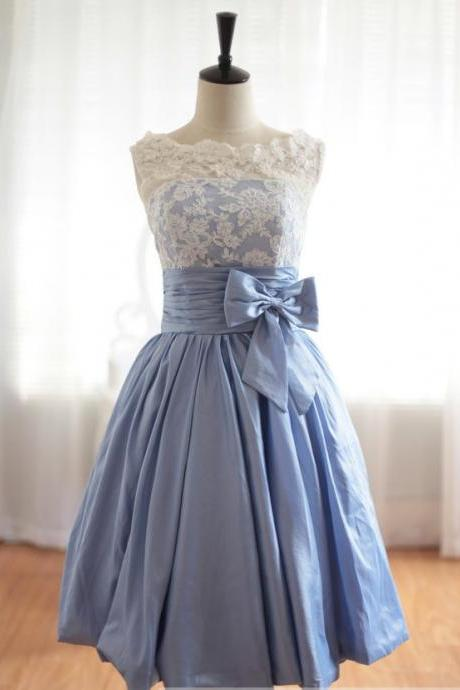 Custom Cheap A line Ball Gown Lavender Taffeta Short Lace Prom Dresses Gowns 2016, Formal Evening Dresses Gowns, Homecoming Graduation Cocktail Party Dresses, Bridesmaid Dresses Plus size