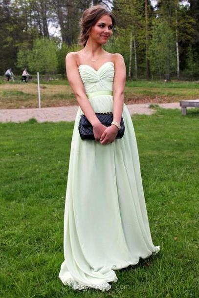 Custom Sweetheart Lime Green Prom Dresses, Elegant Chiffon Prom Gowns, Long Prom Dress, Prom Dress 2016,Simple Prom Dress, Cheap Prom Dress, Affordable Prom Dress, Junior Prom Dress,Burgundy Formal Evening Dresses Gowns, Party Dresses, Plus size