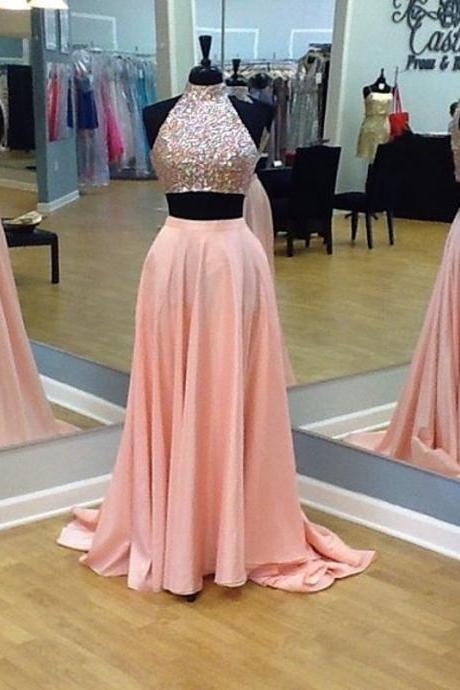 Two- Piece Prom Dress