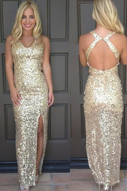 Bling Bling Prom Dress, Champagne Prom Dress, Sequins Prom Dress,Mermaid Prom Dress,Sexy Prom Dress,Prom Gown,Champagne Evening Dress, Mermaid Evening Dress, Sequins Evening Dress, Sexy Evening Dress, Bling Bling Evening Dress,Formal Dress, Homecoming Dresses, Graduation Dress, Party Dress
