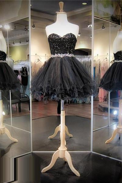 Black Prom Dress,Short Prom Dress,Lace Prom Dress,Cheap Prom Dress,Prom Dress 2016, Little Black Dress, Lace Homecoming Dress, 8th Grade Prom Dress,Holiday Dress,Black Evening Dress, Short Evening Dress,Formal Dress, Homecoming Dresses, Graduation Dress, Cocktail Dress, Party Dress