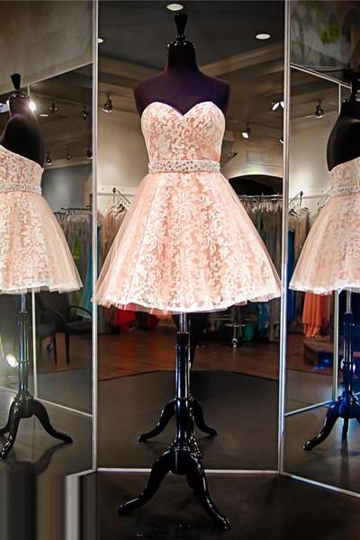 Lace Prom Dress,Orange Prom Dress,Short Prom Dress,Cheap Prom Dress,Prom Dress 2016, Lace Homecoming Dress, 8th Grade Prom Dress,Holiday Dress,Lace Evening Dress, Short Evening Dress,Formal Dress, Homecoming Dresses, Graduation Dress, Cocktail Dress, Party Dress