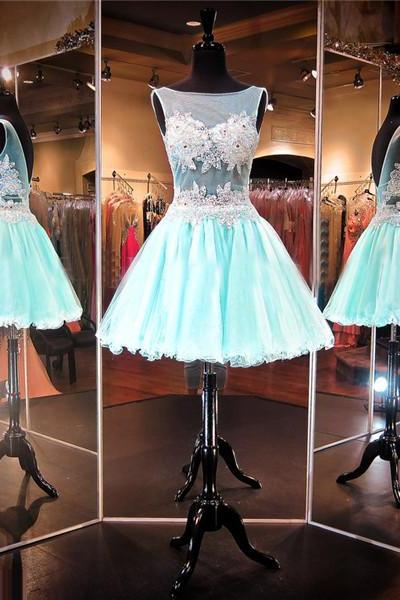 Aqua Prom Dress,Short Prom Dress,Junior Prom Dress,Cheap Prom Dress,A line Prom Dress,Simple Prom Dress, Sexy Prom Dress, Aqua Homecoming Dress, 8th Grade Prom Dress,Holiday Dress,Aqua Evening Dress, Short Evening Dress,Formal Dress, Short Homecoming Dresses, Graduation Dress, Cocktail Dress, Party Dress