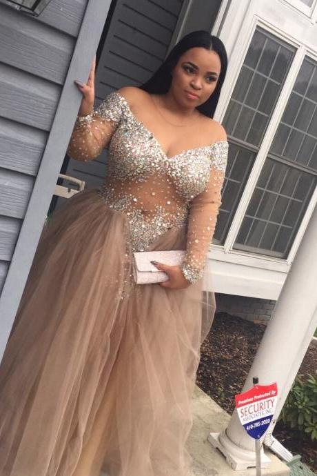 Plus Size Prom Dress On Luulla