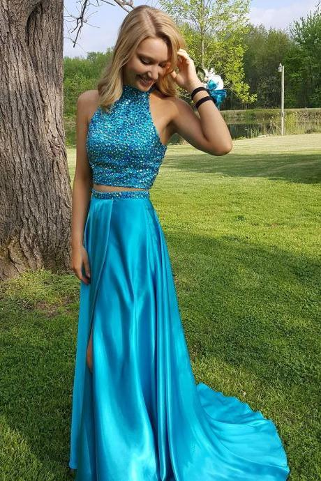 Prom Dress Two Piece,Blue Prom Dress,Prom Gown,Prom Dress Sexy,Cheap Prom Dress,Sales Prom Dress,Homecoming Dress, 8th Grade Prom Dress,Holiday Dress,Evening Dress,Evening Dress Long,Blue Evening Dress,Formal Dress, Long Homecoming Dresses, Graduation Dress, Cocktail Dress, Party Dress