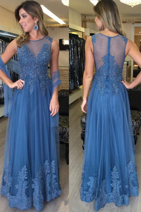 Tulle Prom Dress,Prom Dress See Through,Prom Gown,Prom Dress Long,Cheap Prom Dress,Sales Prom Dress,Homecoming Dress, 8th Grade Prom Dress,Holiday Dress,Evening Dress,Evening Dress Long,Blue Evening Dress,Formal Dress, Long Homecoming Dresses, Graduation Dress, Cocktail Dress, Party Dress