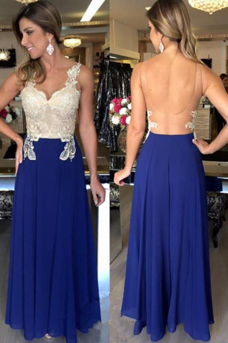 Royal Blue Prom Dress,Prom Dress See Through Back,Prom Gown,Prom Dress Long,Cheap Prom Dress,Sales Prom Dress,Homecoming Dress, 8th Grade Prom Dress,Holiday Dress,Evening Dress,Evening Dress Long,Royal Blue Evening Dress,Formal Dress, Long Homecoming Dresses, Graduation Dress, Cocktail Dress, Party Dress