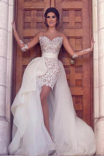 Prom Dress,Prom Gown,Lace Prom Dress,Sheath Prom Dress,Prom Dress Long Sleeves,Prom Dress Ivory Cheap Prom Dress,Affordable Prom Dress,Formal Dress,Evening Dress,Custom Plus size