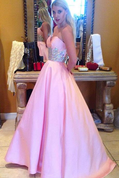 Pink Prom Dress,Prom Gown,Cheap Prom Dress,Prom Dress Long,Affordable Prom Dress,Formal Dress,Evening Dress,Custom Plus size
