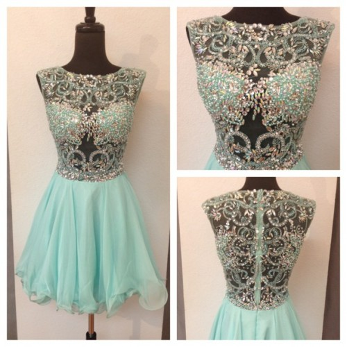 Blue Prom Dress, Short Prom Dress, Cheap Prom Dress, Beaded Prom Dress, Affordable Prom Dress, Junior Prom Dress,Formal Evening Dresses Gowns, Homecoming Graduation Cocktail Party Dresses, Holiday Dresses, Plus size