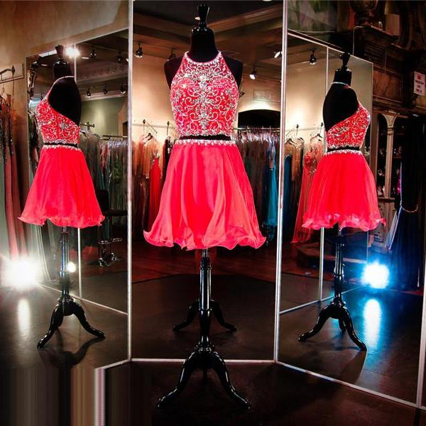 2 Piece Prom Dress,Short Prom Dress,Halter Prom Dress, Junior Prom Dress,Cheap Prom Dress,Prom Dress 2016,Red Prom Dress, Sexy Prom Dress, Cheap Homecoming Dress, 8th Grade Prom Dress,Holiday Dress,Red Evening Dress, Short Evening Dress,Formal Dress, 2 Piece Homecoming Dresses, Halter Homecoming Dress,Graduation Dress, Cocktail Dress, Party Dress