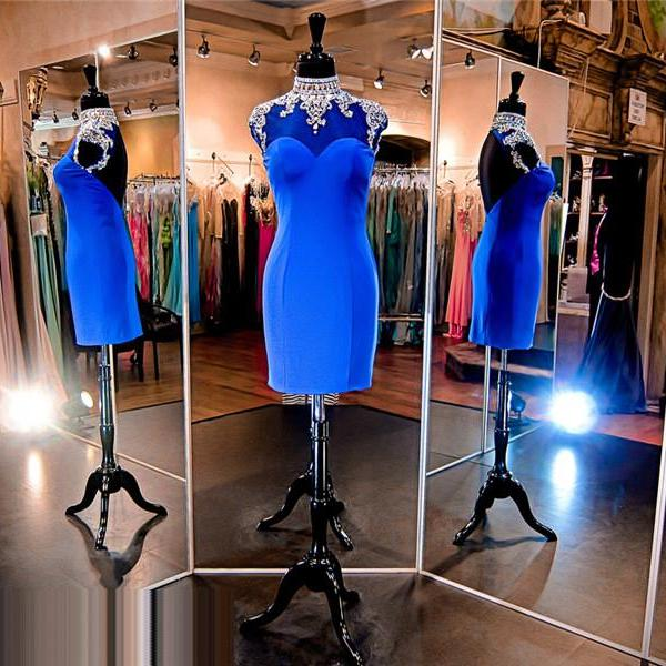 Royal Blue Prom Dress,Short Prom Dress,Straight Prom Dress,Backless Prom Dress, Sexy Prom Dress,Cheap Prom Dress,Prom Dress 2016,Spandex Prom Dress, Jersey Prom Dress, Cheap Homecoming Dress, 8th Grade Prom Dress,Holiday Dress,Royal Blue Evening Dress, Short Evening Dress,Formal Dress, Homecoming Dresses, Graduation Dress, Cocktail Dress, Party Dress