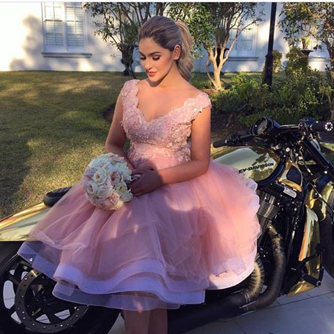 Prom Dress,Blush Pink Prom Dress,Prom Gown,Bridesmaid Dress,Short Prom  Dress,Lace Prom Dress,Prom Dress Cheap,Affordable Prom Dress,Junior Prom ...